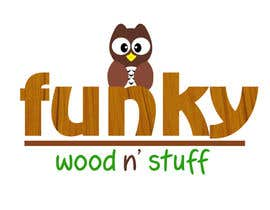 #12 for Design a Logo for Funky Wood 'n' Stuff by melaiocampo