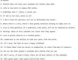 flexibleworker tarafından Need One Line Quotes için no 24