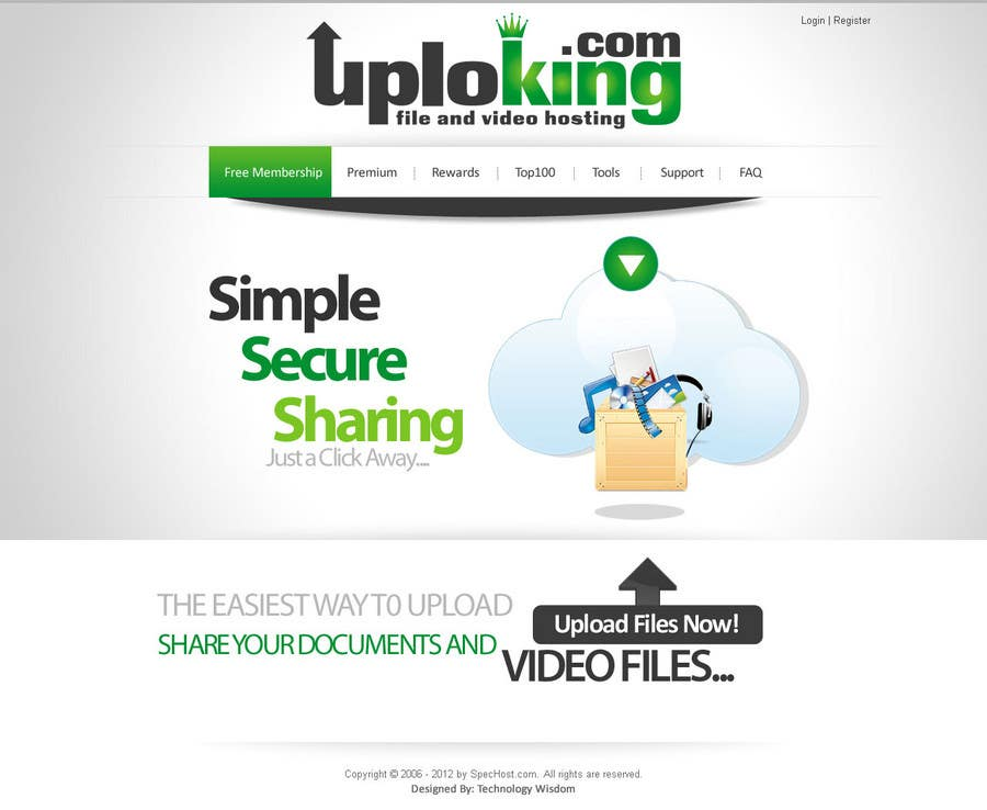 Contest Entry #                                        19                                      for                                         Website Design for Spec Host LTD