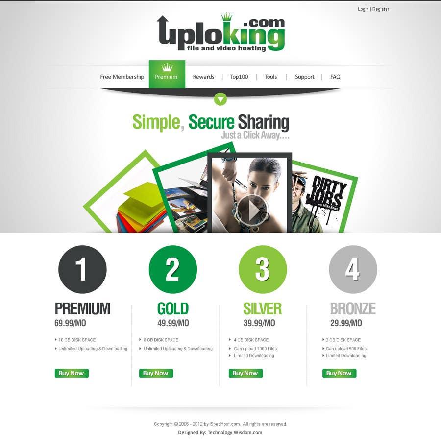 Contest Entry #                                        18                                      for                                         Website Design for Spec Host LTD