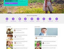 Ganeshdas tarafından Design of home page plus 2 main pages in Photoshop için no 14
