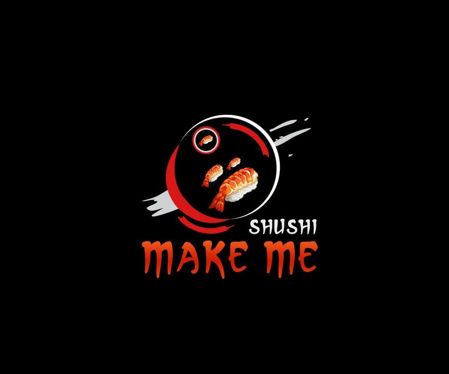 "Contest Entry #41 for Design a Logo for 'MAKE ME SUSHI"" - repost"