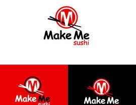 "nº 46 pour Design a Logo for 'MAKE ME SUSHI"" - repost par rajdesign2009"