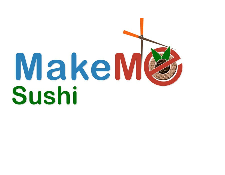 "Contest Entry #52 for Design a Logo for 'MAKE ME SUSHI"" - repost"