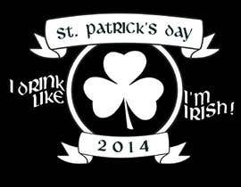 nº 8 pour Design a T-Shirt for St. Patty's Day par ChrisFlannery