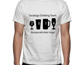 nº 5 pour Design a T-Shirt for St. Paddy's Day Drinking Team par lokeshpise91