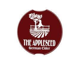 """zelimirtrujic tarafından """"The AppleSeed"""" Cider Logo Design Contest için no 105"""