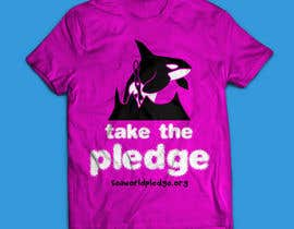 #3 para Design a T-Shirt for Seaworldpledge.org por kenbonilla