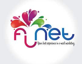 #153 para Design a logo for FL-NET por felipe0321
