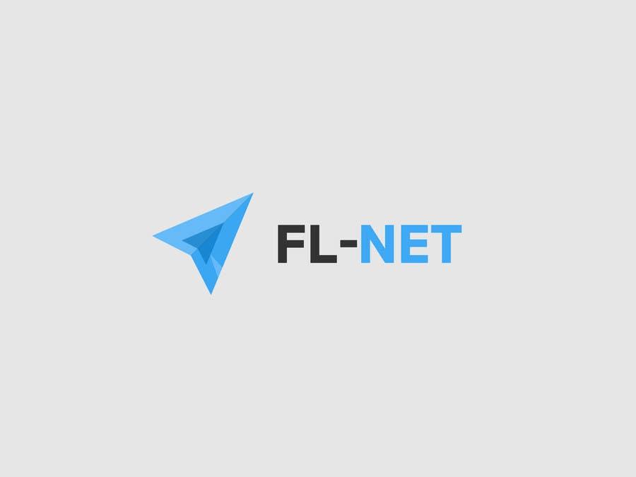 Design a logo for FL-NET için 84 numaralı Yarışma Girdisi