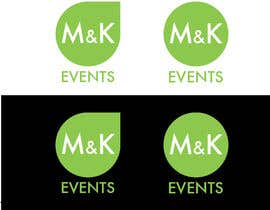 "#9 cho Logo for ""M&K Events"" bởi NikoMDesign"