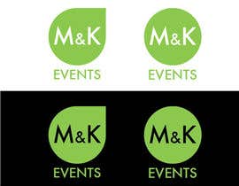 "#10 cho Logo for ""M&K Events"" bởi NikoMDesign"