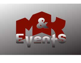 "#46 cho Logo for ""M&K Events"" bởi riyutama"
