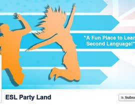 #23 para Social Graphic Design for ESLPartyLand.Com por pixide