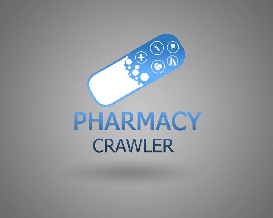 Kilpailutyö #95 kilpailussa Design a logo for a pharmaceutical product search engine