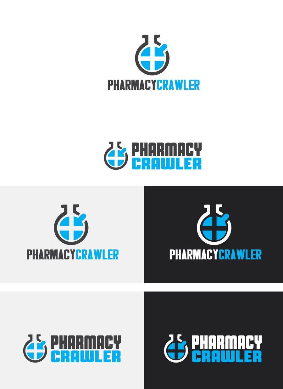 Kilpailutyö #3 kilpailussa Design a logo for a pharmaceutical product search engine