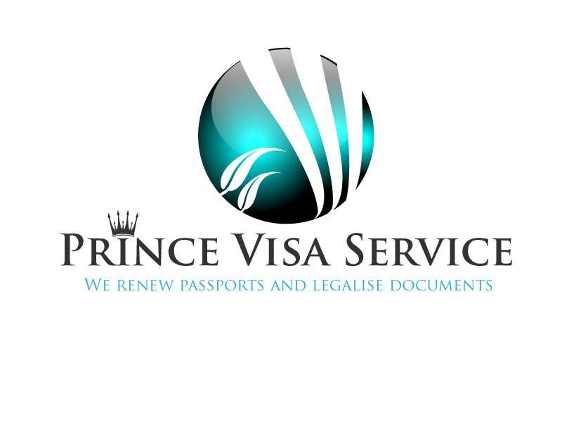 Inscrição nº 246 do Concurso para Logo Design for Prince Visa Service