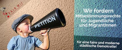 #83 for Design for a banner of a petition by uriel1993