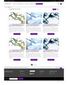 ameet4u tarafından Design 2 website pages (grid + show) için no 13