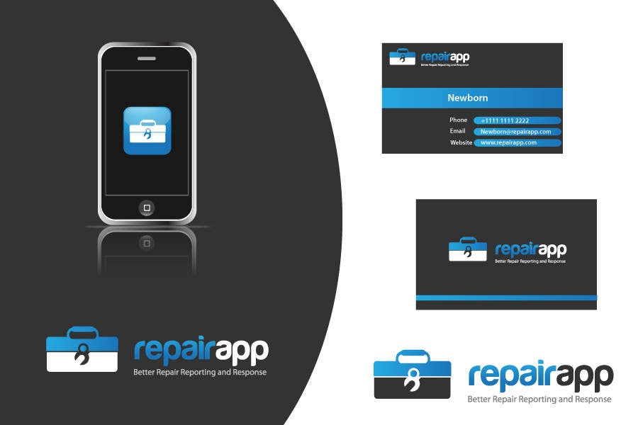 #281 for Logo Design for RepairApp by danumdata