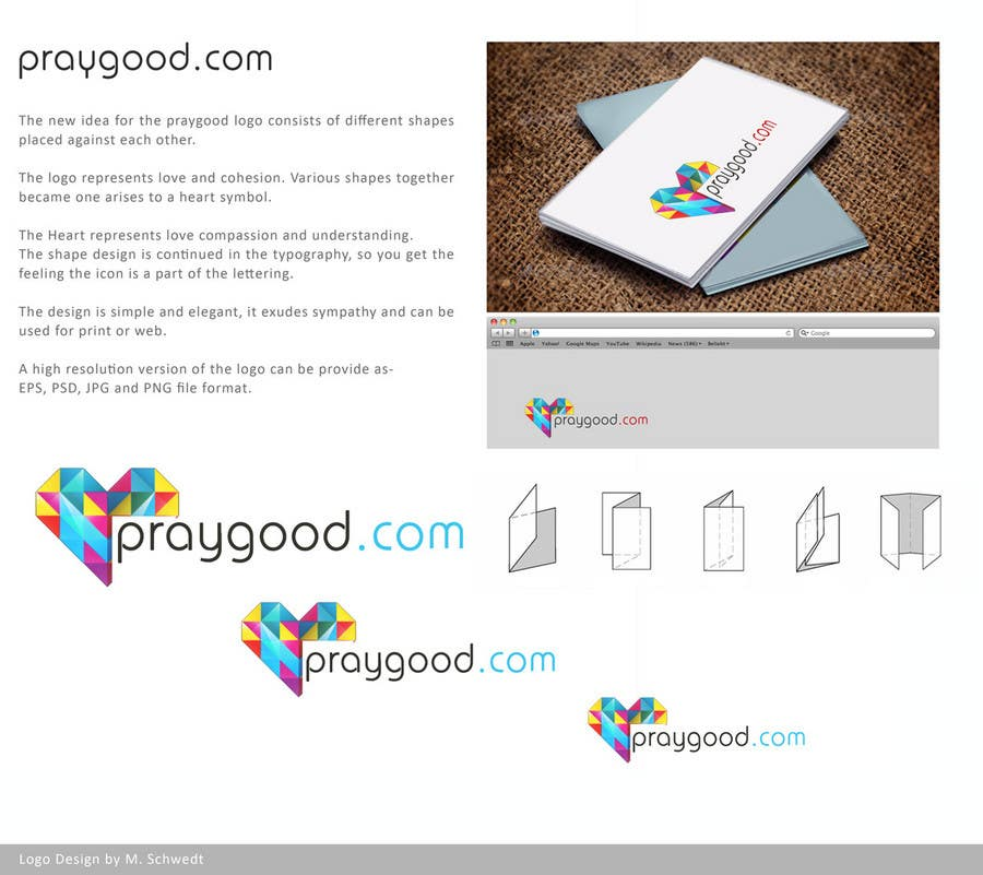 Конкурсная заявка №80 для Logo Design for praygood.com