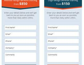 #12 for x2 Web Form design by Ponchu