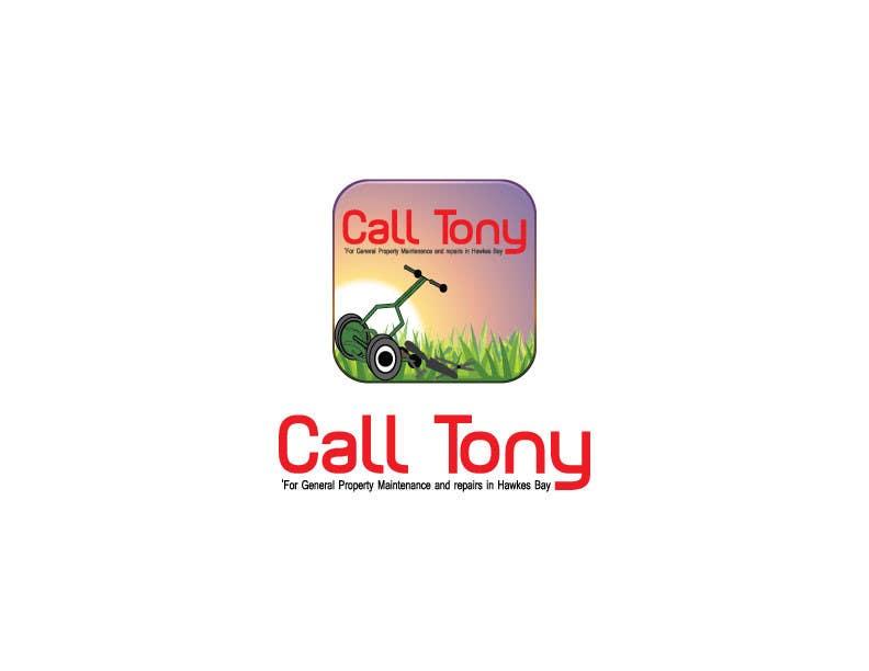 Kilpailutyö #6 kilpailussa Design a Logo, Flyer and Banner for Call Tony