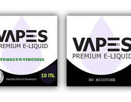 #3 for Create labels and box design for eliquid company by cdinesh008