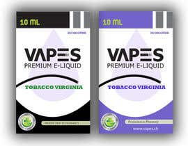 #4 for Create labels and box design for eliquid company by cdinesh008