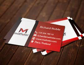#26 untuk Design some Business Cards for Mathster.com oleh chfree