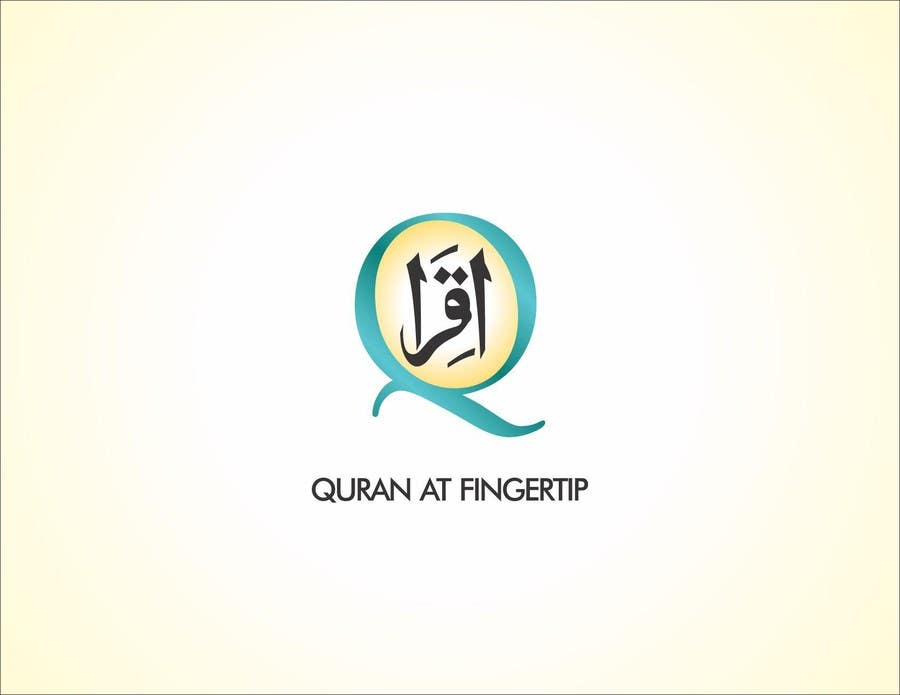 Entry #3 by dezignsquares for Design a Logo for Quran at Fingertip ...