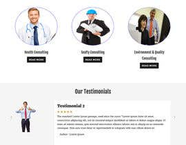 rajbevin tarafından Build a Website for a consulting company for health, safety, environment and quality için no 5