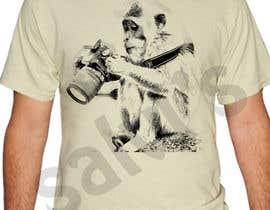 salvipratap87 tarafından Design funny animal t-shirt için no 10