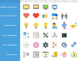 UKgraphic tarafından Design some Icons - Replace Static Icons on Website with Moving Graphics için no 15