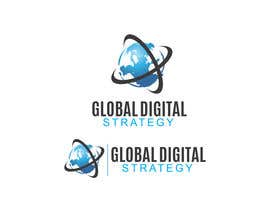 #166 para Design a Logo for Global Digital Strategy por hammadraja
