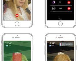pipertai tarafından Design an App Mockup için no 27