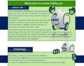nº 14 pour Design a webbsite tubby par huminam