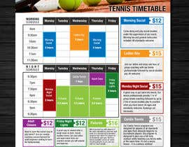 #9 for Editable Adult Class Timetable by Mimi214