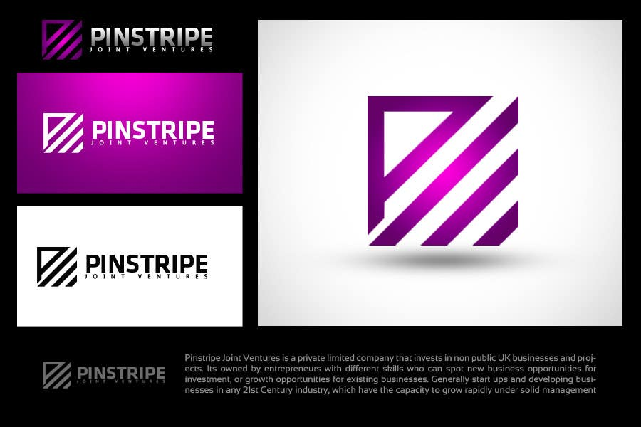 Contest Entry #                                        267                                      for                                         Logo Design for Pinstripe Joint Ventures