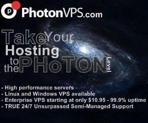 Bài tham dự cuộc thi #                                        1                                      cho                                         Banner Ad Design for PhotonVPS