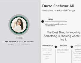 DurreShehwar tarafından Resume Template için no 16