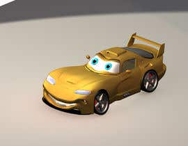 #24 untuk Do some 3D Modelling - Create Kiddie Ride - Race Car oleh zwz3dgraphics