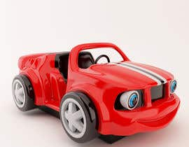 #39 untuk Do some 3D Modelling - Create Kiddie Ride - Race Car oleh peterkunstbahn