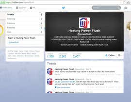 #22 for Design a Twitter background for my company af bhaktilata