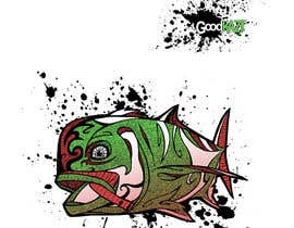 #73 for Design for Fish GoodKaze af abdolilustrador
