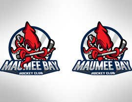 AlekMarquez tarafından Ice Hockey Team Logo için no 44