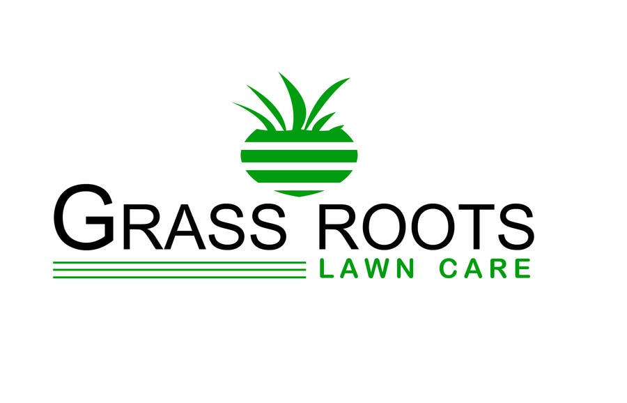 "Konkurrenceindlæg #9 for Logo for  ""Grass Roots Lawn Care"""