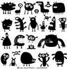 Funny Monster Robot Illustrations Wanted için Graphic Design25 No.lu Yarışma Girdisi