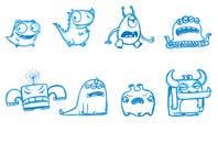 Funny Monster Robot Illustrations Wanted için Graphic Design21 No.lu Yarışma Girdisi