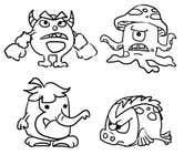 Funny Monster Robot Illustrations Wanted için Graphic Design34 No.lu Yarışma Girdisi